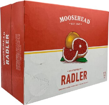 Moosehead Radler Grapefruit 12pk 12oz Cans