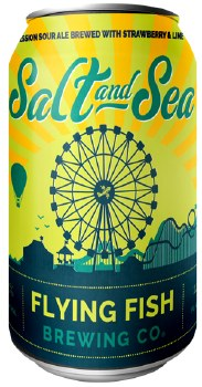 Flying Fish Salt and Sea Session Sour Ale 12oz Can