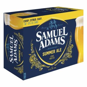 Sam Adams Summer Ale 12pk 12oz Cans