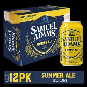 Sam Adams Cold Snap White Ale 12pk 12oz Cans