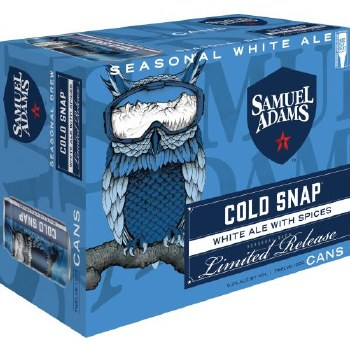 Sam Adams Cold Snap White Ale 12pk 12oz Cans
