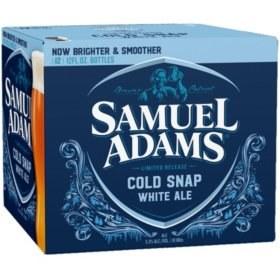 Sam Adams Cold Snap White Ale 12pk 12oz Bottles