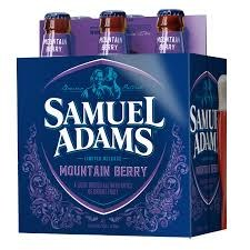 Sam Adams Mountain Berry 6pk 12oz Bottles