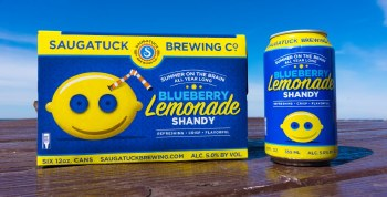 Saugatuck Blueberry Lemonade Shandy 6pk 12oz Cans