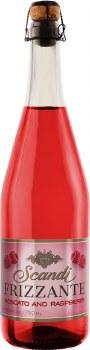 Scandi Frizzante Moscato and Raspberry 25.4oz Bottle