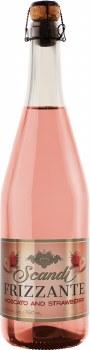Scandi Frizzante Moscato and Strawberry 25.4oz Bottle