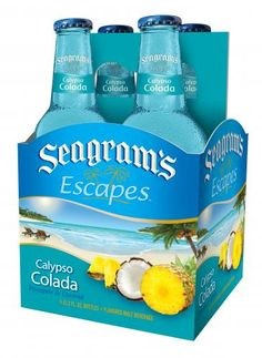 Seagrams Escapes Calypso Colada 4pk 11.2oz Bottles