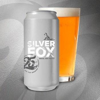 Sly Fox 25th Anniversary Silver Fox 4pk 16oz Cans