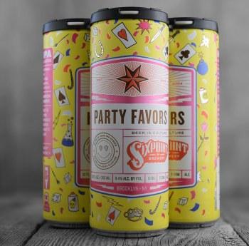 Six Point Party Favors Hazy Milkshake IPA 6pk 12oz Cans