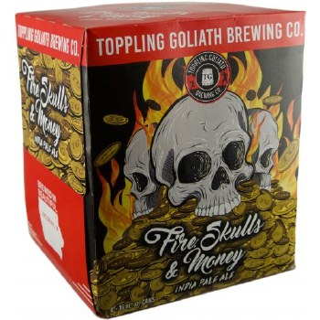 Toppling Goliath Fire Skulls and Money 4pk 16oz Cans