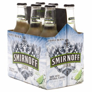 Smirnoff Ice Triple Black 6pk 11.2oz Bottles
