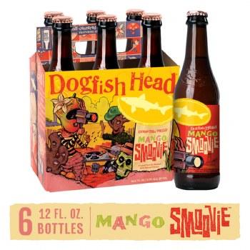 Dogfish Head Mango Smoovie Fruited Tart Ale 6pk 12oz Bottles