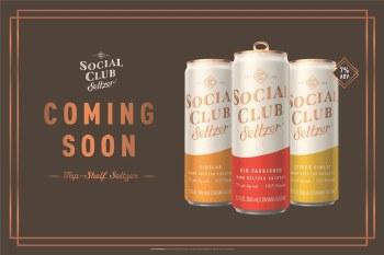 Social Club Seltzer Variety 12pk 12oz Cans
