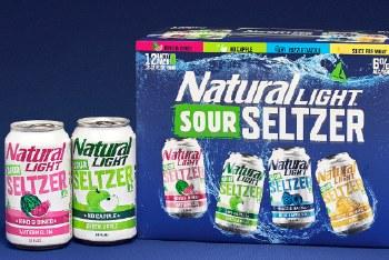 Natural Light Sour Hard Seltzer Variety 12pk 12oz Cans