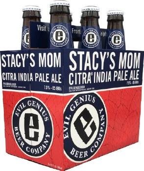 Evil Genius Stacy's Mom Citra IPA 6pk 12oz Bottles