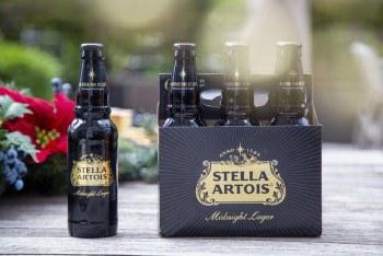 Stella Artois Midnight Lager 6pk 12oz Bottles