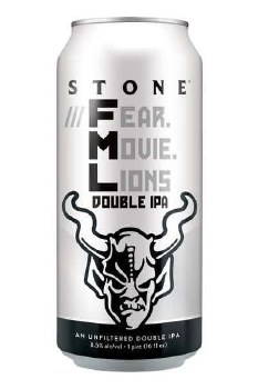 Stone FML Fear Movie Lions Double IPA 19.2oz Can