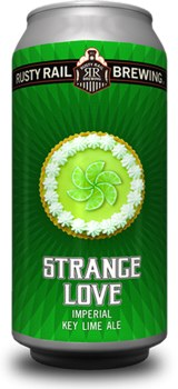 Rusty Rail Strange Love Imperial Key Lime Ale 4pk 16oz Cans