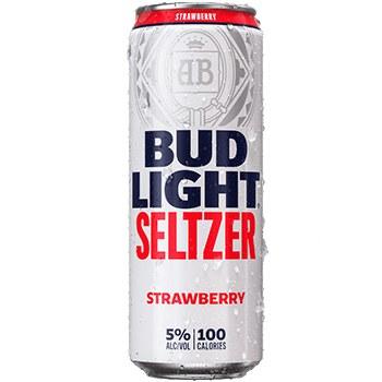 Bud Light Seltzer Strawberry 25oz Can