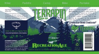 Terrapin Recreation Ale 16oz Cans