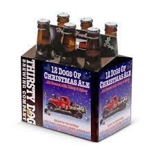 Thirsty Dog 12 Dogs of Christmas Ale 6pk 12oz Bottles
