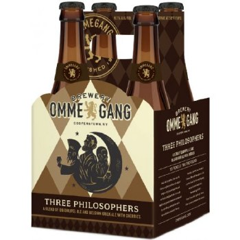 OmmeGang Three Philosophers Quadrupel Ale 4pk 12oz Bottles