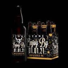 Stone Enjoy By 07.04.21 Tangerine and Pineapple Double IPA 6pk 12oz Bottles
