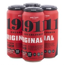 1911 Original Hard Cider 4pk 16oz Cans