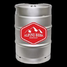 Alpine Duet West Coast Style IPA 1/6 Keg