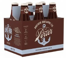 Anchor Brewing Porter 6pk 12oz Bottles