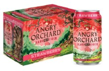 Angry Orchard Strawberry Hard Fruit Cider 6pk 12oz Cans