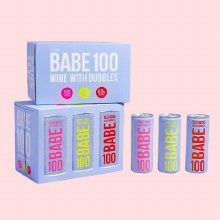Babe 100 Wine with Bubbles Variety 6pk 8.4oz Cans