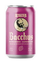 Bacchus Frambozenbier Raspberry Sour Beer 10oz Can
