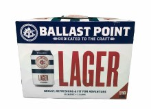 Ballast Point Lager 12pk 12oz Cans