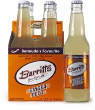 Barritt's Ginger Beer 4pk 12oz Bottles