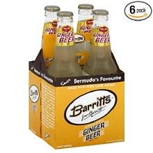 Barritt's Ginger Beer 4pk 12oz Bottles