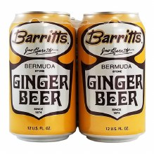 Barritts Ginger Beer Bermuda Stone 4pk 12oz Cans
