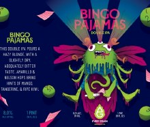 Ever Grain Bingo Pajamas Double IPA 16oz Can