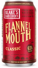 Blakes Flannel Mouth Classic Semi Sweet Hard Cider 12oz Can