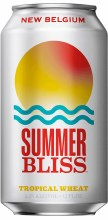 New Belgium Summer Bliss Tropical Wheat 12oz Can