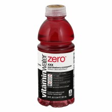 Vitamin Water Zero Acai Blueberry Pomegranate 20oz Plastic Bottle