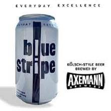 Axemann Blue Stripe Kolsch Style 12oz Can