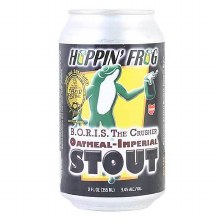 Hoppin Frog BORIS The Crusher Oatmeal Imperial Stout 12oz Can