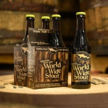 Dogfish Head Bourbon Barrel Aged World Wide Stout 4pk 12oz Bottles