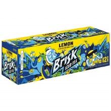 Brisk Iced Tea Lemon 12pk Cans