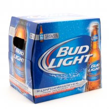 Bud Light 12pk 12oz Bottles