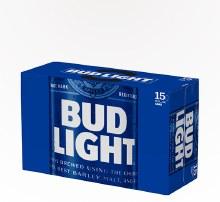 Bud Light 15pk 12oz Cans