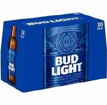 Bud Light 18pk 12oz Bottles