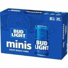 Bud Light 24pk 8oz Cans