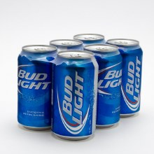 Bud Light 6pk 12oz Cans